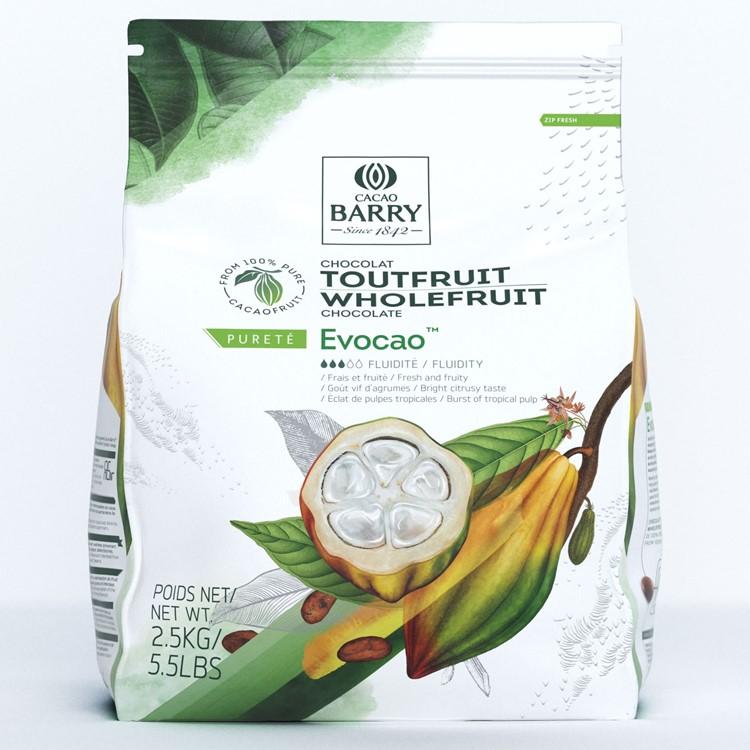 Cacao Barry WholeFruit Evocao™ is unique couverture chocolate