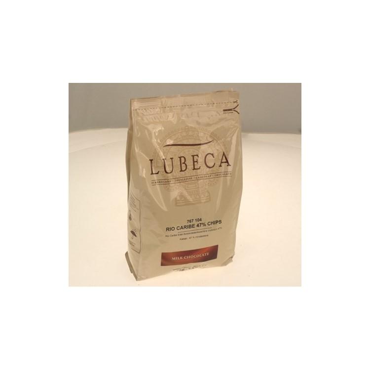 Lubeca Milk Chocolate Buttons / Callets Couverture   Venezuela   2.5kg