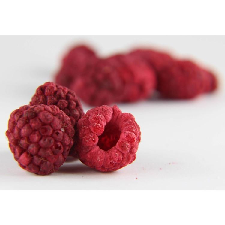Freeze dried raspberries whole 200g pack