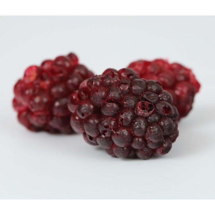 Freeze dried blackberries whole 800g bag