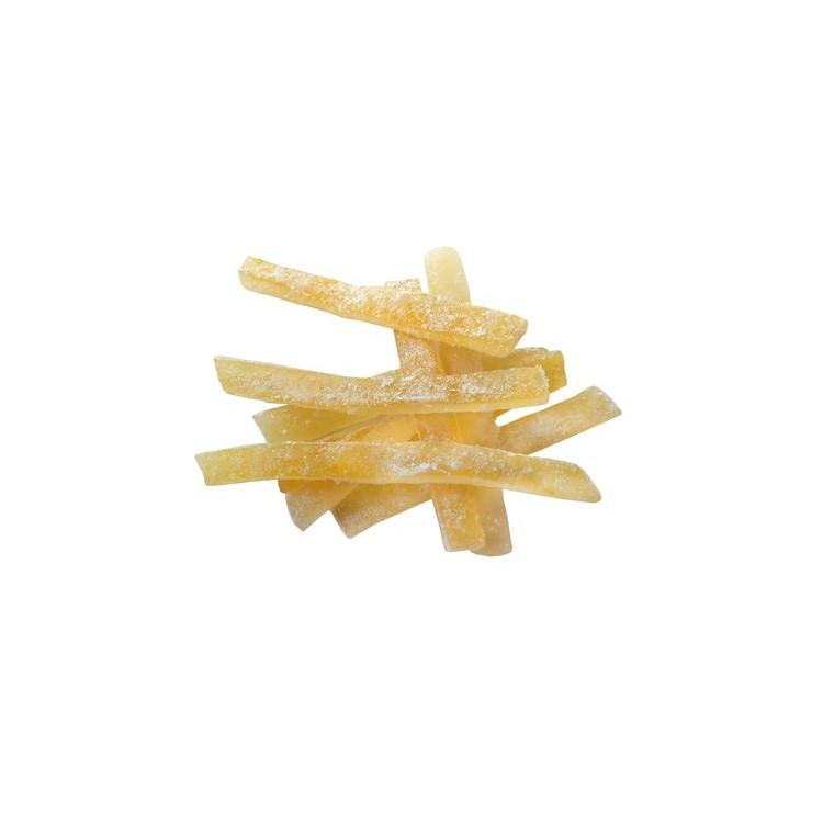 High quality candied lemon peel strips