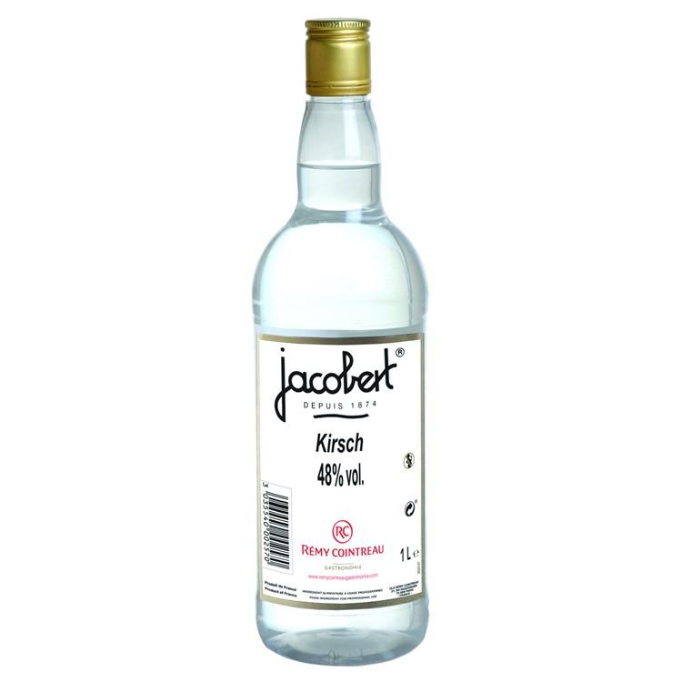 Jacobert Kirsch 48% vol 1l bottle