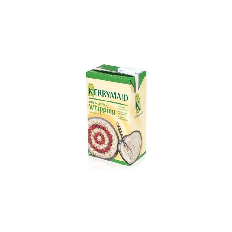 KerryMaid Long Life Cream   12 x 1L Case   Whipping Cream Alternative