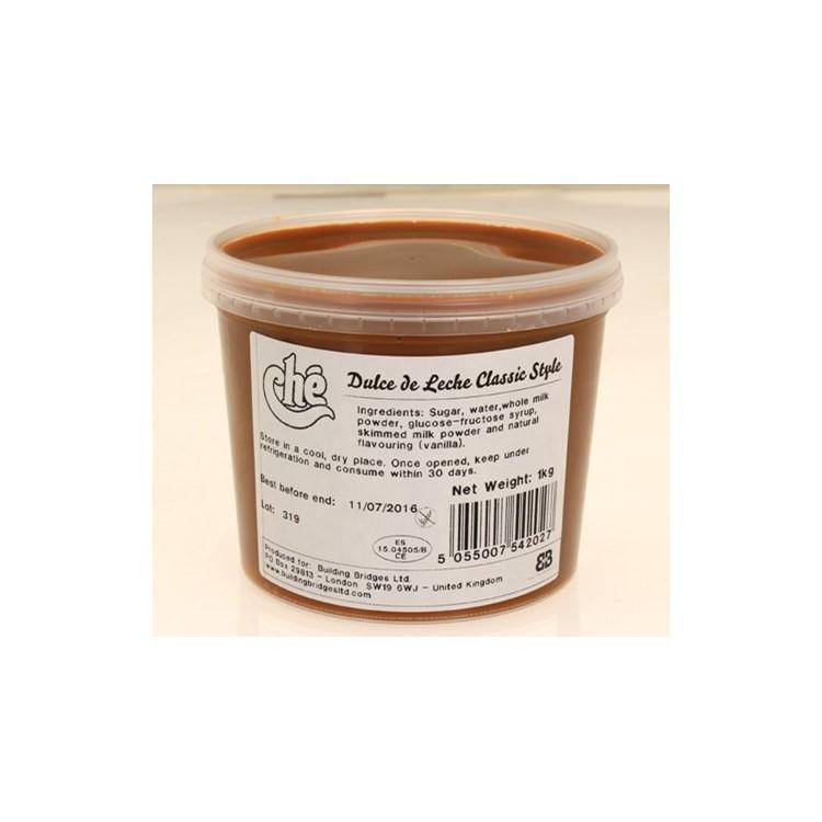 Dulce de Leche is a soft milk toffee filling