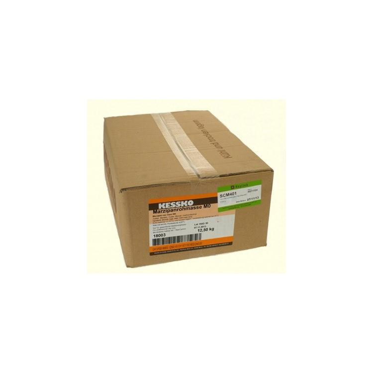 Pure almond marzipan Raw Mass MO 12.5kg box