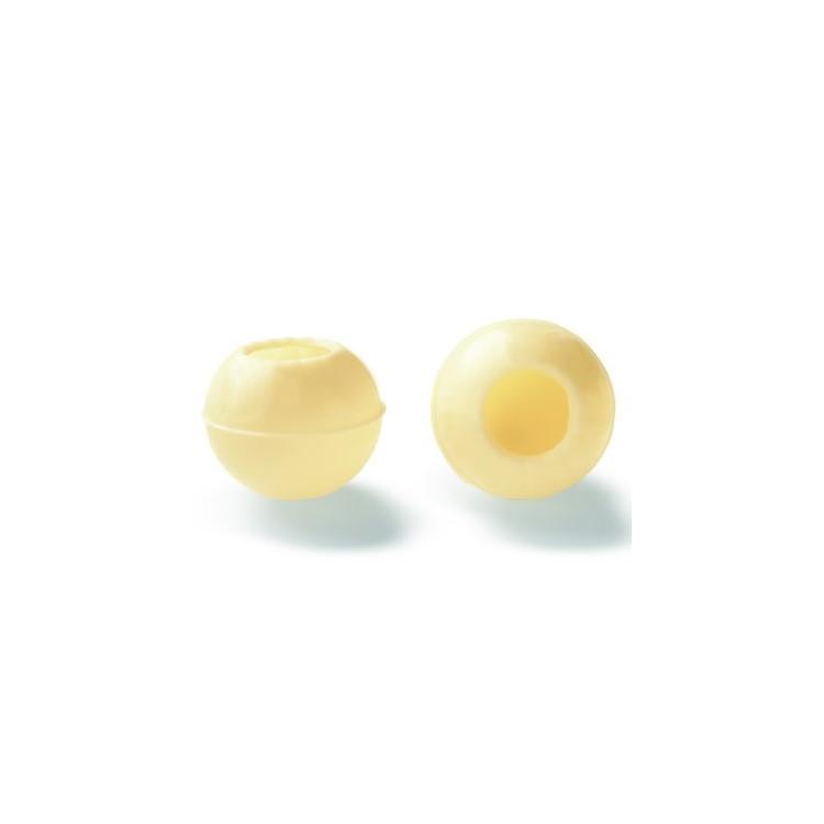 Wholesale white chocolate truffle shells | box of 504 | Callebaut