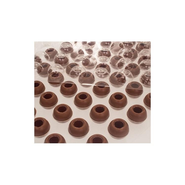 Wholesale milk chocolate truffle shells | box of 504