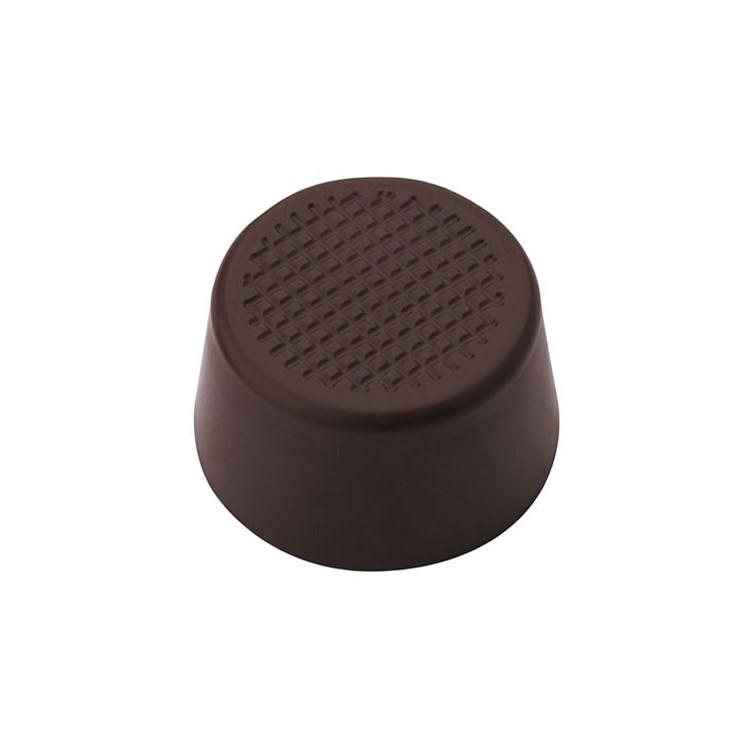 Dark chocolate cups   round   box of 693