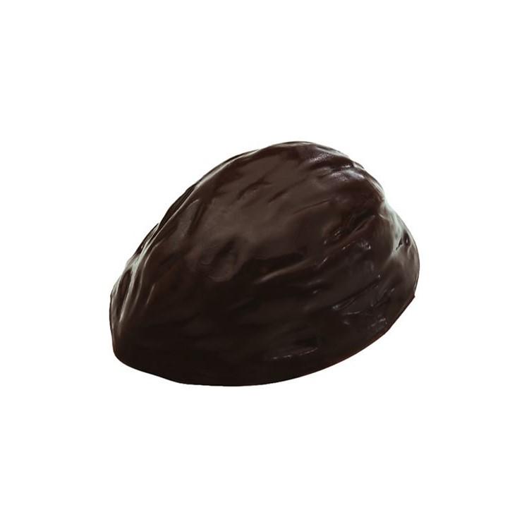 Dark chocolate cups | walnut halves shape | box of 756