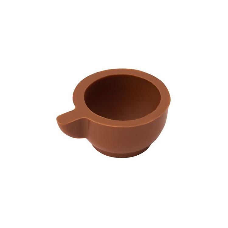 Milk chocolate hollow cups | box of 540 | chocolate truffle shells