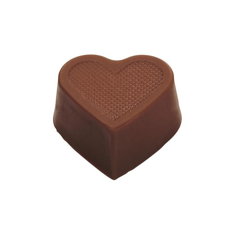 Heart hollow cups milk chocolate box of 648   chocolate truffle shells