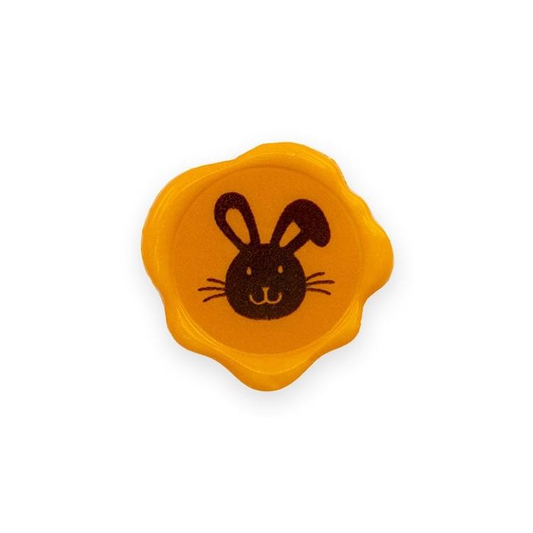 Bunny Seal Plaque box of 70