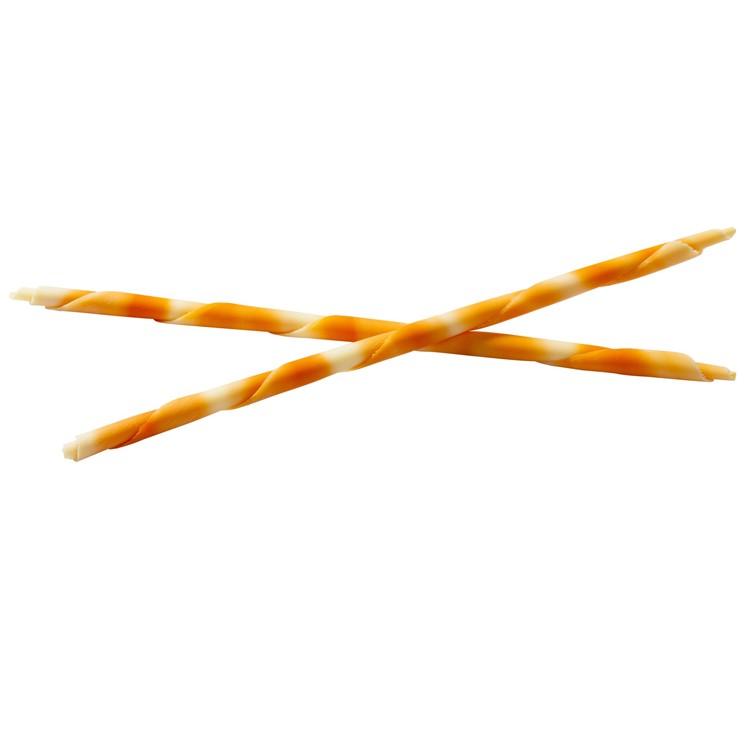 Mona Lisa orange extra-large pencils are a super speedy way to finish cakes