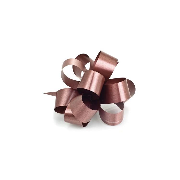 PullBow Ribbon; chocolate 40m roll