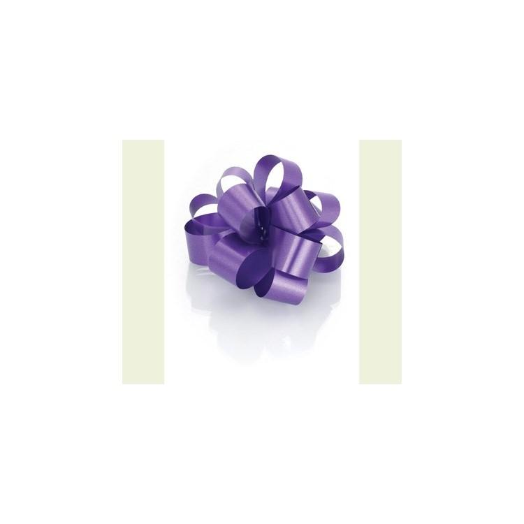 PullBow Ribbon; Purple 40m roll