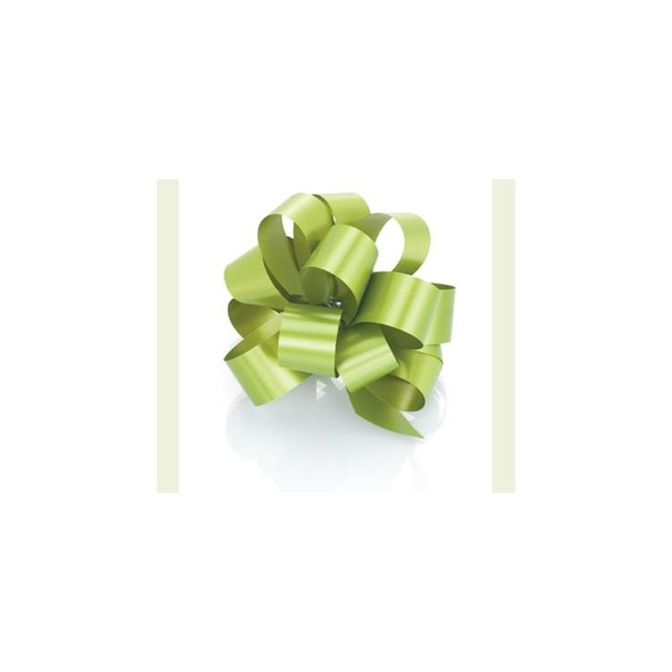 PullBow Ribbon; Light Green 40m roll