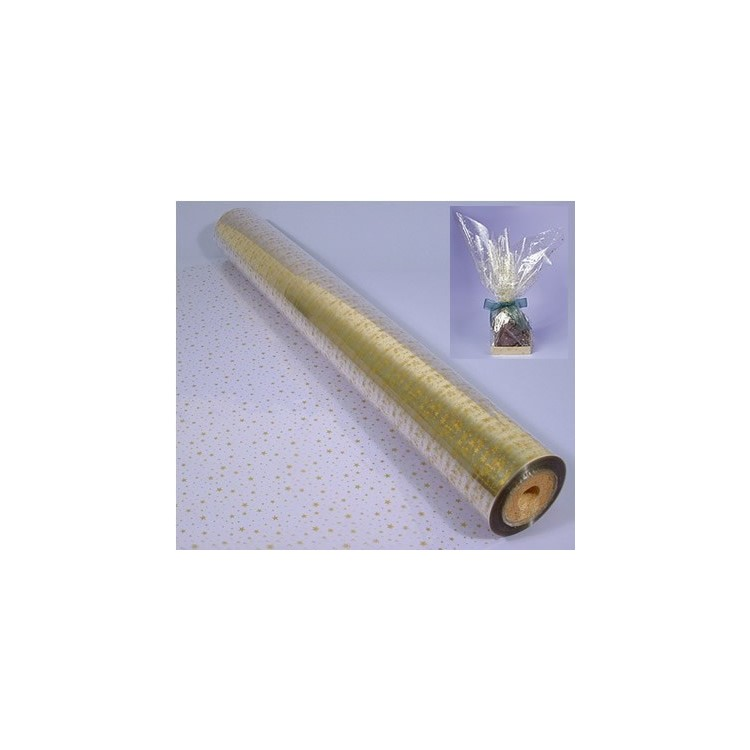 Cellophane film can be used for packaging hampers