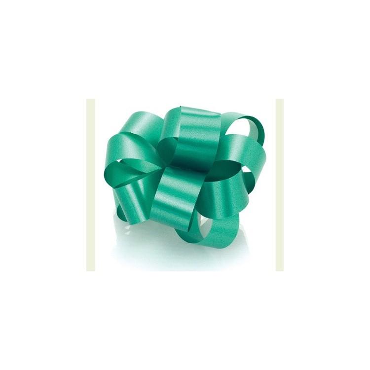 PullBow Ribbon; Emerald Green 40m roll
