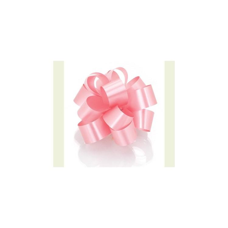 PullBow Ribbon; Mauve Pink/Aurora 40m roll