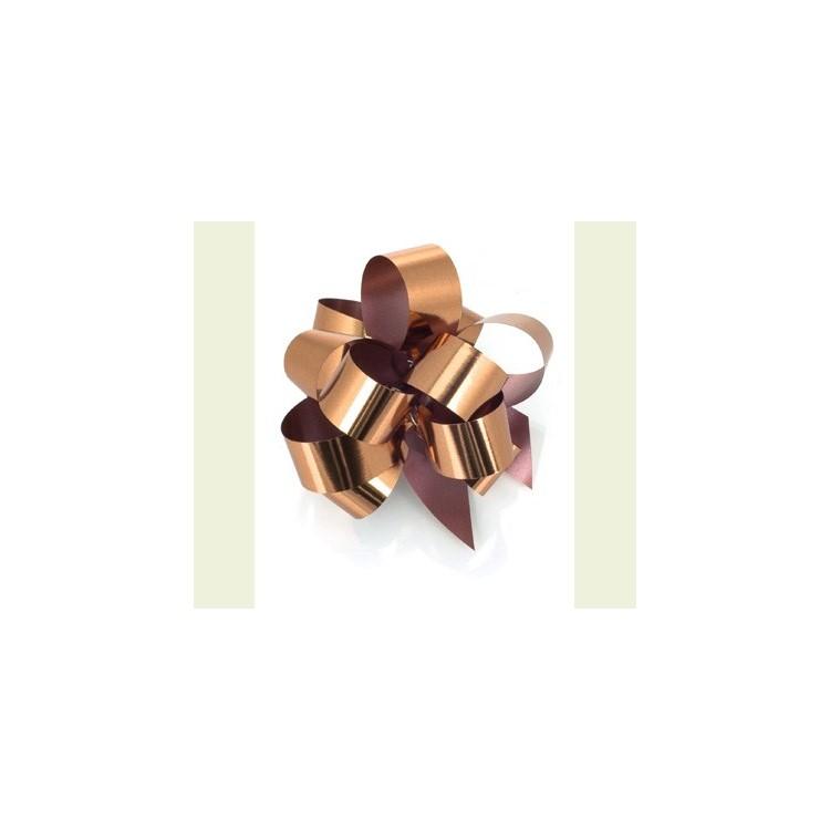 PullBow Ribbon; Metallic Copper 40m roll