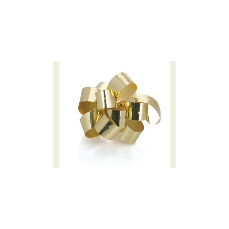 PullBow Ribbon; Metallic Gold 40m roll