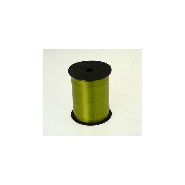 Curling Ribbon; Avocado Green 500m roll