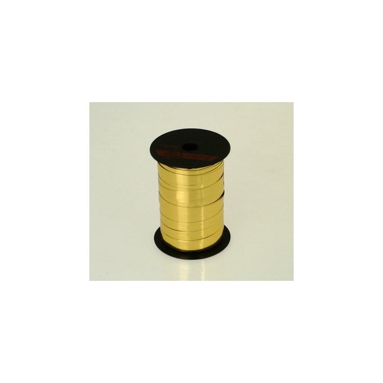 Curling Ribbon; Metallic Gold 50m roll