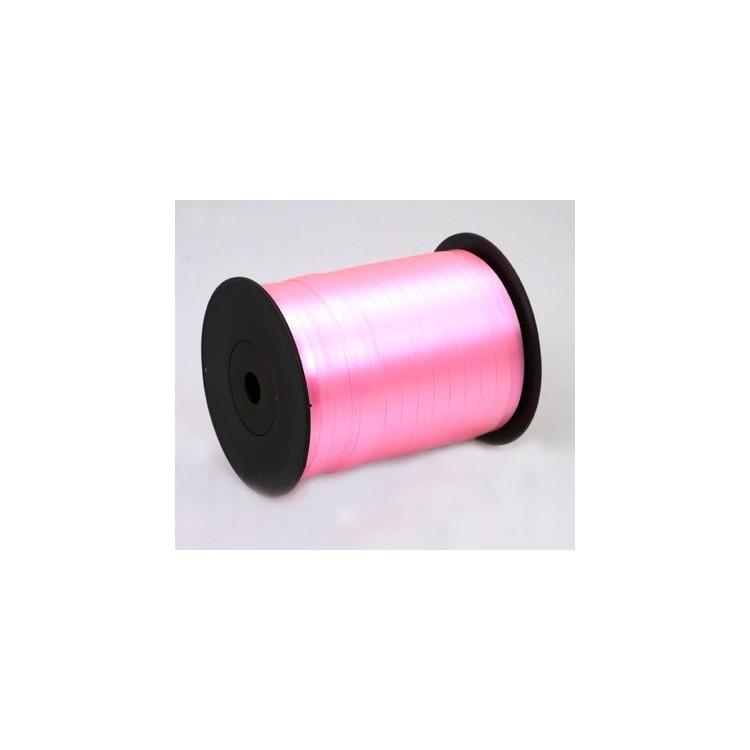 Curling Ribbon; Fluorescent Rose 500m roll
