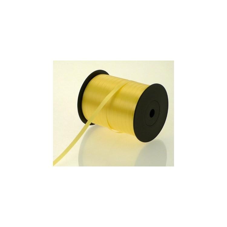 Curling Ribbon; Lemon 500m roll
