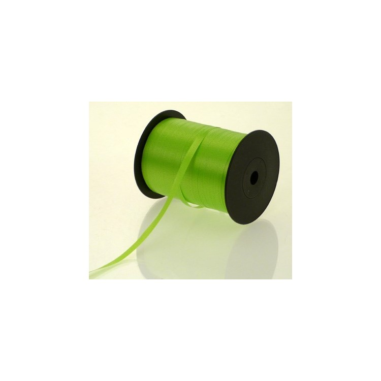 Curling Ribbon; Apple Green 500m roll