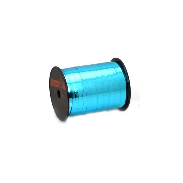 Curling Ribbon; Metallic Light Blue 250m roll
