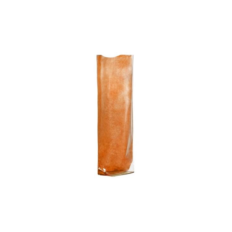 Polyprop Satchel; Orange Kraft Paper Back box of 100