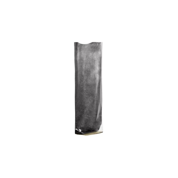 Polypropylene Satchel; black Kraft Paper Back box of 100